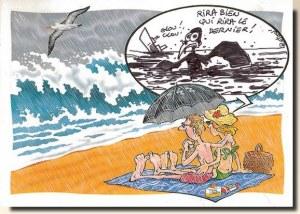 Une carte postale de Bidart (Denis Soto)