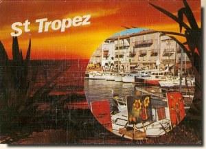 Une carte postale de Saint Tropez (Claire)