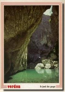 Une carte postale des Gorges du Verdon (Caroline et Jean-Marc)