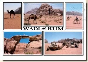 Une carte postale de Wadi Rum (Sylvain et Yvette)