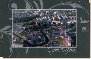 Une carte postale de Goleniow (Kasia et Kacper)