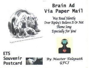 Une carte postale d'Homer (George)