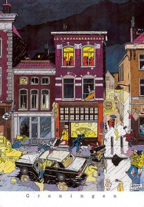 Une carte postale de Groningen (Eza)