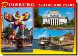 Une carte postale de Duisbourg (Tanja)