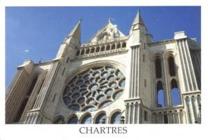 Une carte postale de Chartres (Anonyme)