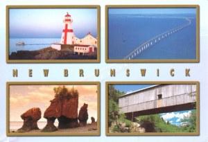 Une carte postale de Saint John (Julie)