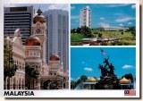 Une carte postale de Kuala Lumpur (Shana)