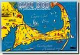 Une carte postale de Cape Cod, MA (Papa Skip)