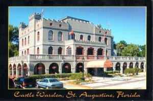 Une carte postale de St Augustine (George)