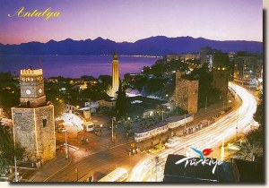 Une carte postale de Antalya (Alena)