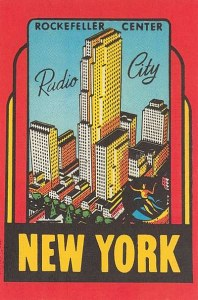 Une carte postale de New York (Loes)