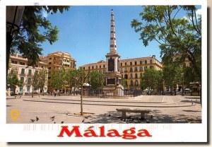Une carte postale de Malaga (Marion)