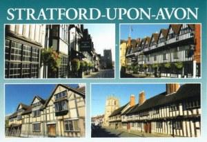 Une carte postale de Statford-Upon-Avon (Sophie)