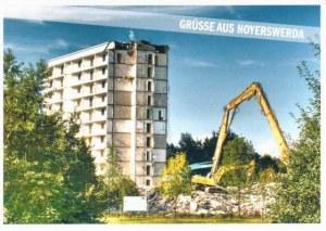 Une carte postale d'Hoyerswerda (Gabriela)
