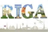 Une carte postale de Riga (Roberts)