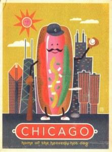 Une carte postale de Chicago (Amanda)