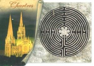 Une carte postale de Chartres (Frédéric)
