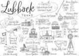 Une carte postale de Lubbock (Barbi)