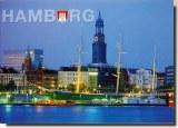 Une carte postale de Hambourg (Marlen)
