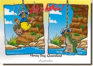 Une carte postale du Queensland (Yvonne)