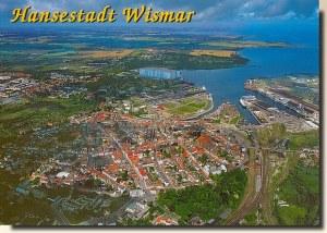 Une carte postale de Wismar (Witti)