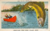 Une carte postale de Eden Valley, MN (Tes)