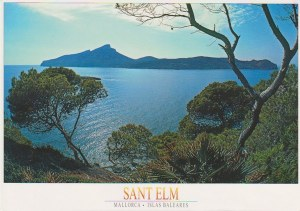 Une carte postale de Sant Elm (Emilia)