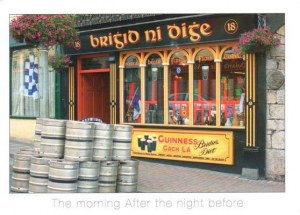 Une carte postale de Dublin (Brian)
