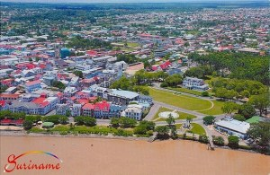 Une carte postale de Paramaribo (Sherwin)