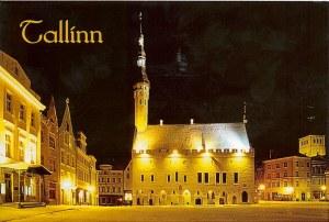 Une carte postale de Tallinn (Krirten)