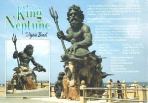 Une carte postale de Virginia Beach (Ingrid)