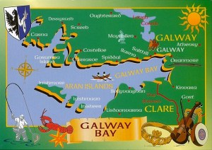 Une carte postale de Galway (Rita)