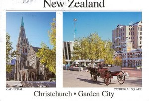 Une carte postale de Christchurch (Jess)