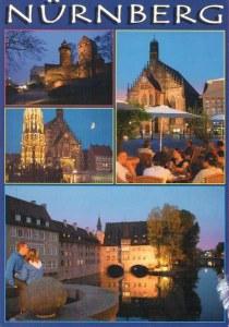 Une carte postale de Nuremberg (Natalie)
