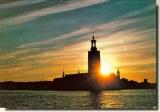 Une carte postale de Stockholm (Bjarne)