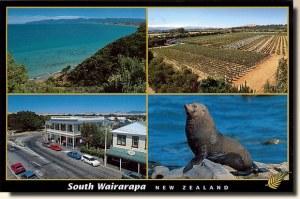 Une carte postale de Featherston (Cheri)