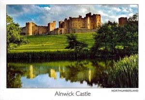 Une carte postale d'Alnwick (Sandrine, Rémi et Pascal)