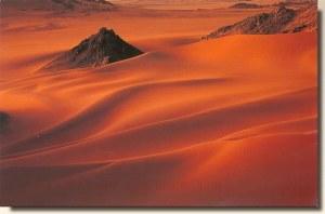 Une carte postale du desert de l'Aïr, en provenance de Stafa (Amon)