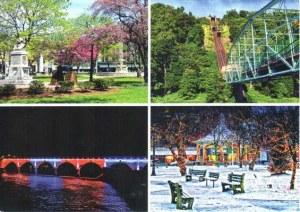 Une carte postale de Johnstown (Barlo)