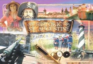 Une carte postale de St. Augustine, FL (George)