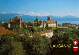 Une carte postale de Lausanne (Lisa)
