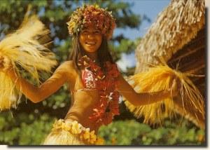 Une carte postale de Tahiti (Léone)