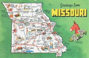 Une carte postale de Jefferson City, MI (Ted)