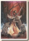 Une carte postale de Carnac (Frede)