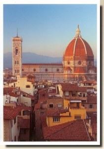 Une carte postale de Florence (Moi en vacances en Italie)