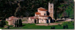 Une carte postale de Toscane (Benoit XVI)