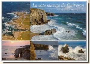 Une carte de Quiberon (Céline)