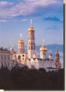 Une carte potale de Moscou (Igor)
