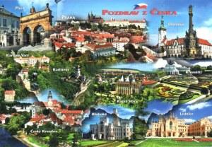 Une carte postale de la République Tchèque (Paul)