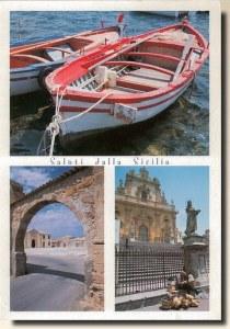 Unen carte postale de Palerme (Philippe et Liliane)